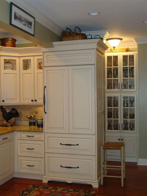 built in fridge built in refrigerator new home kitchen