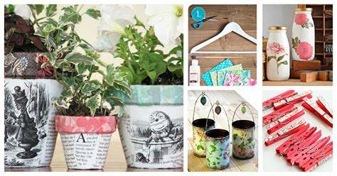 Idea Decoupage - ideas para manualidades con decoupage manualidades