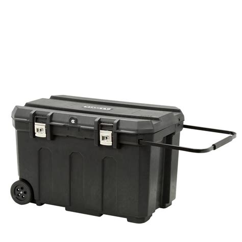 Home Depot Tool Chest On Wheels by Stanley 20 In 50 Gal Mobile Tool Box 037025h The Home