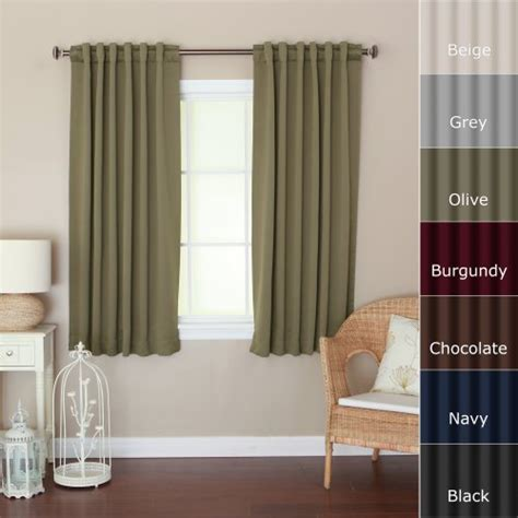 best blackout curtains for day sleepers window treatments best home fashion thermal insulated