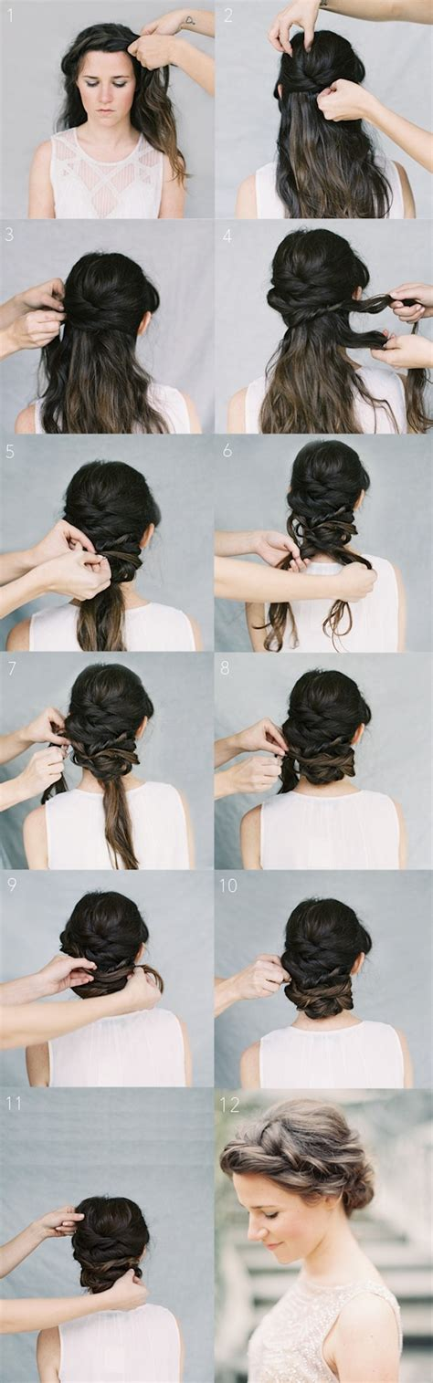 12 wedding hairstyles tutorials for brides and bridesmaids popular haircuts