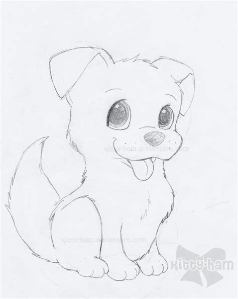 puppy sketch puppy sketch by ham on deviantart