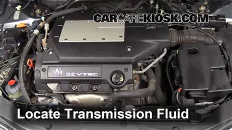 2001 acura tl transmission fluid add transmission fluid 1999 2003 acura tl 2003 acura tl