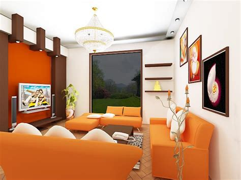 orange livingroom oustanding living room designs with orange motifs