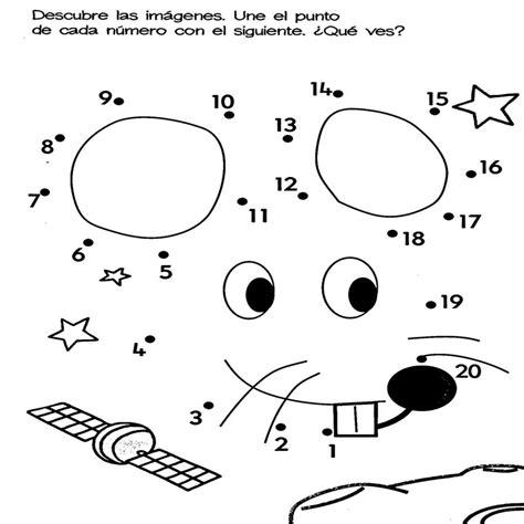 dibujos para colorear con numeros escuela de padres y madres fichas de unir puntos