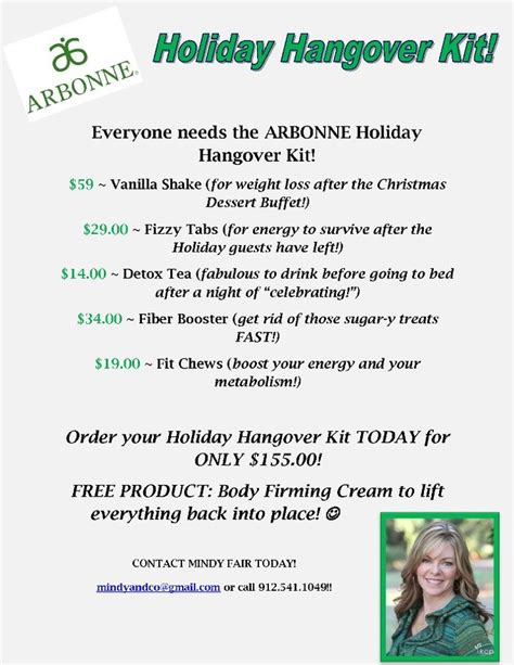 Hangover Detox Day by Arbonne And Ideas On