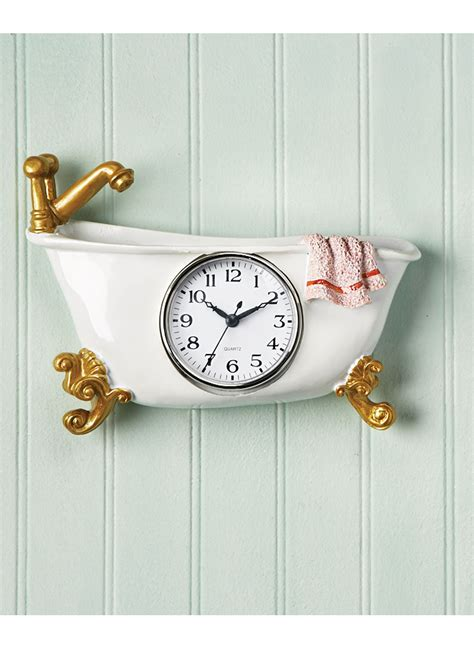 bathtub clock bathtub clock 28 images vintage burwood bath word wall
