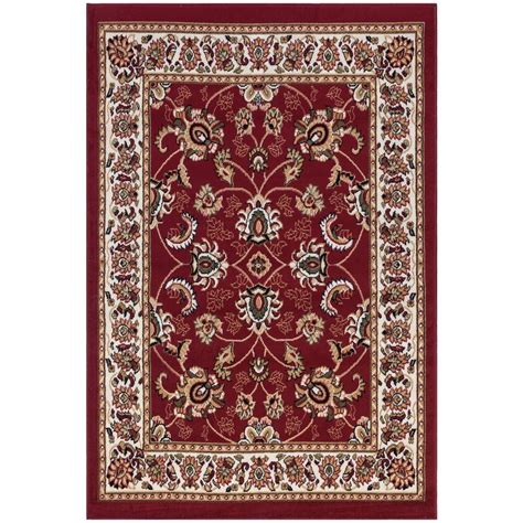 Ottomanson Area Rugs Ottomanson Traditional 5 Ft X 7 Ft Area Rug Ptr1600 5x7 The Home Depot