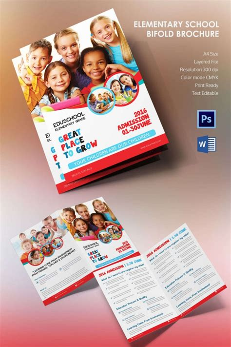 school brochure templates microsoft brochure template 34 free word pdf ppt