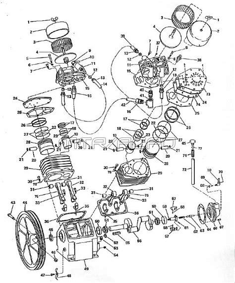 cbell hausfeld tk000021p air compressor parts
