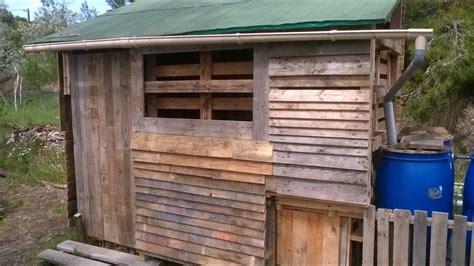 Construire Cabane En Palette by Cabane En Palette Partie 1