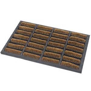 Outdoor Floor Mats Uk Jvl Heavy Duty Nimbus Rubber Coir Tuffscrape Door