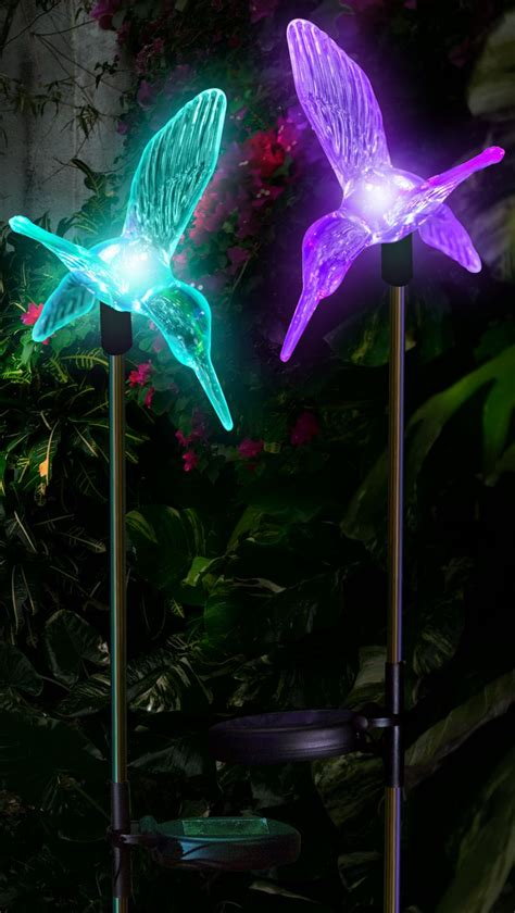 hummingbird solar light stake 17 best images about gardening on hydrangeas