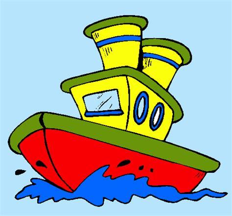 barco dibujo dibujo de barco en el mar pintado por jaumec en dibujos