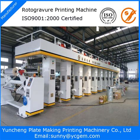 Overal Printing 1 computerized 6 color plastic label roll printing machine buy printing machine label