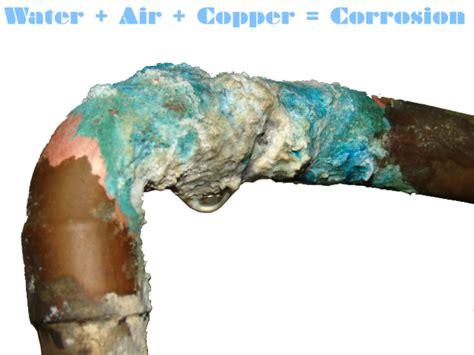 Copper Pipe Leak What Starts A Copper Pipe To Leak Plumbing Emergencies