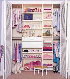 yelow kids closet with colorful ideas