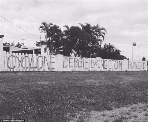 spray painter brisbane qld queenslanders ask category 4 cyclone debbie to bring it on
