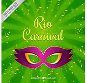 Fondo Verde De M&225scara Carnaval  Descargar Vectores Premium