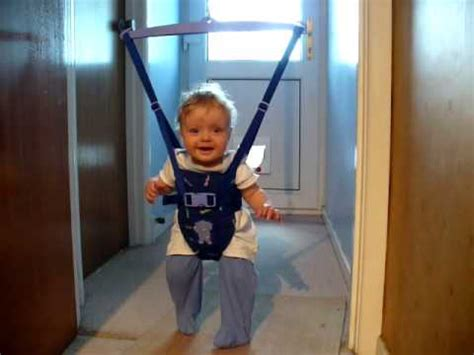 baby swing for 6 month old ptolemy in his bouncer 6 months old funnydog tv
