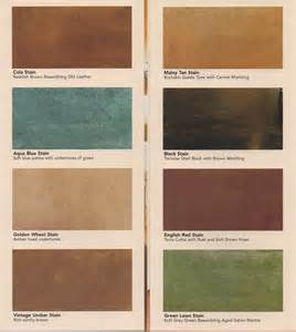 concrete acid stain color chart quikrete concrete stain colors chart images