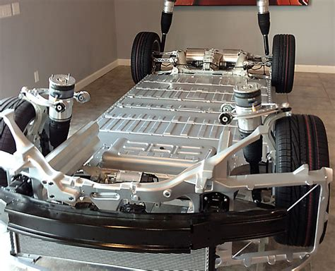 Tesla Battery Pack Design Battery Safty Idea Drop Battery To The Ground Tesla