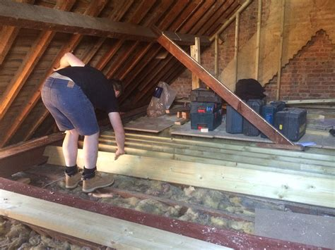 How To Lay A Loft Floor by Velux Conversion Skylofts