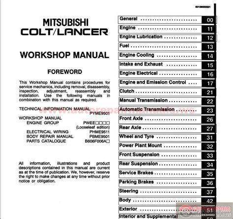 chilton car manuals free download 1992 mitsubishi montero head up display mitsubishi lancer cj ck charisma da0a 2005 workshop manual auto repair manual forum