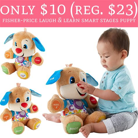 laugh and learn smart stages puppy only 10 regular 23 fisher price laugh learn smart stages puppy deal