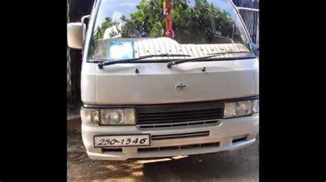 nissan sri lanka nissan caravan van for sale in srilanka www adsking lk