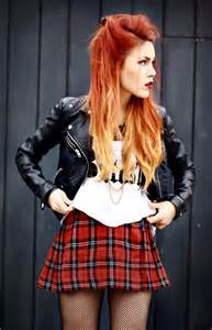 how does the look hair style look how to style tartan skirts wardrobelooks com
