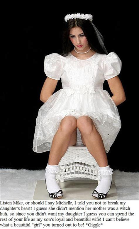 boy becomes bride caption prom and wedding caps super tg captions