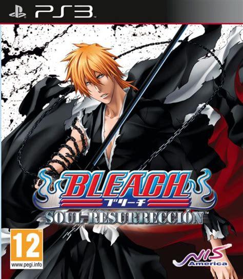 imagenes de anime videojuegos bleach soul resurrection para ps3 3djuegos