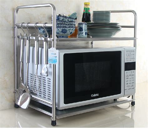 Microwave Oven With Metal Rack by Aliexpress Buy Layer Stainless Steel