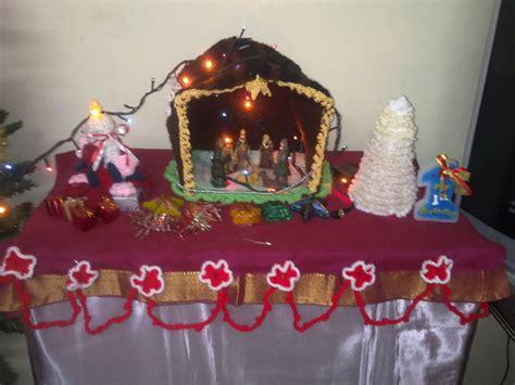 crocheted nativity stable  nativity scene crochet