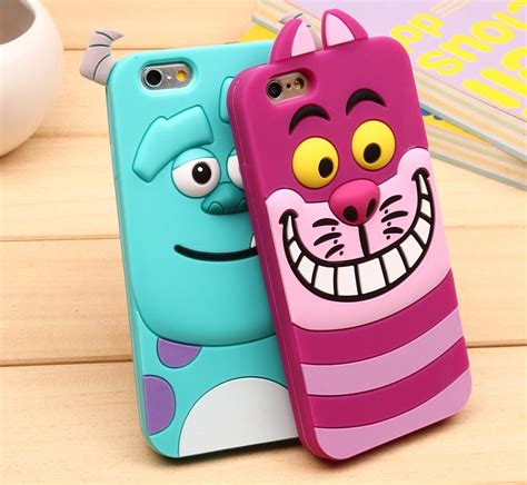 Softcase Softshell Casing 3d Sulley Monsters Inc Samsung J1 Ace phone for apple iphone 6 4 7 inch inc 3d sully tiger soft silicone rubber