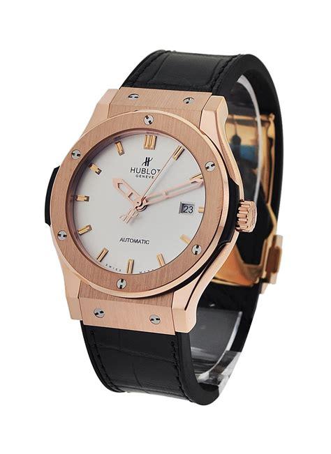 Hublot Classic Fusion Turbillon Silver Black Leather 1 542 ox 2610 lr hublot classic fusion 42mm gold essential watches