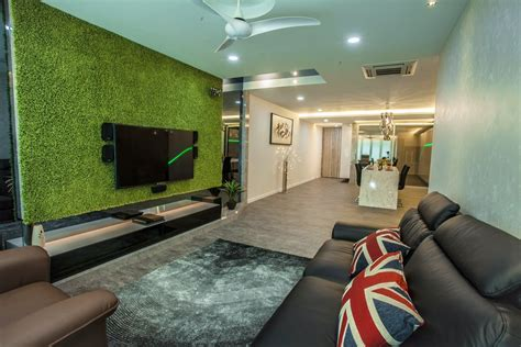 Grass Interior Design by Evoking The Elements Of Nature In This Tanjung Heights Home By Zeng Interior Design Space