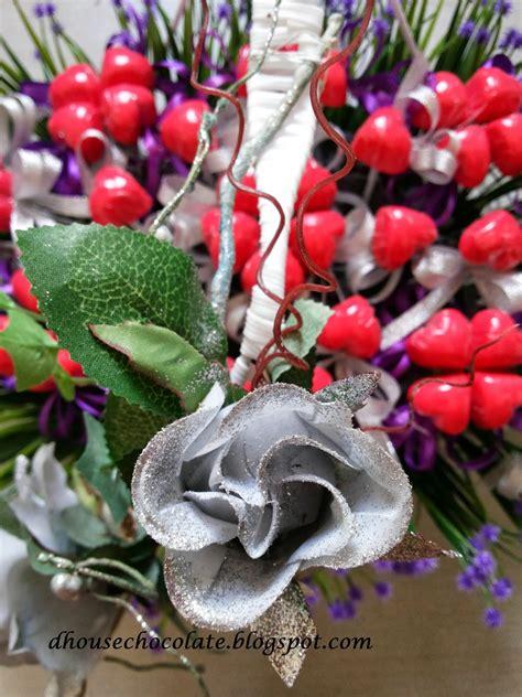 Amirah Purple dhousechocolate coklat hantaran bakul tema purple silver