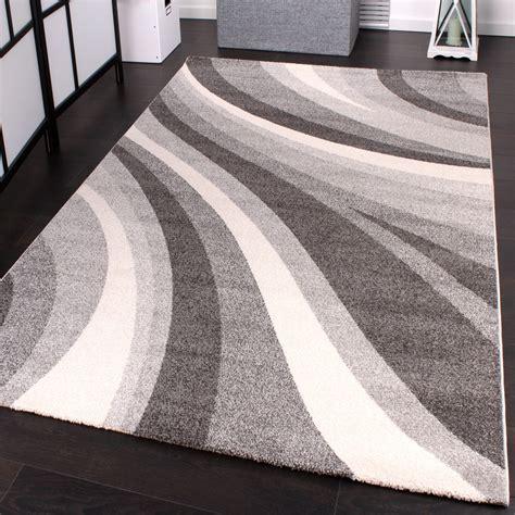 teppich rund modern teppich grau kurzflor rund harzite