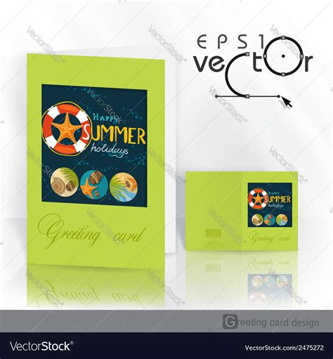 greeting card design template free greeting card design template royalty free vector image