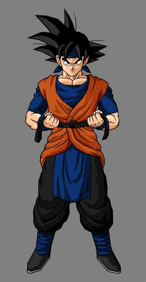 imagenes de goku jr ssj4 adult goku jr by hsvhrt on deviantart