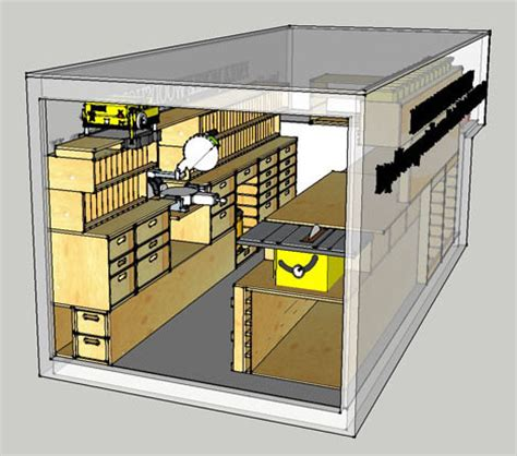 give your tools a modular home mobile woodshop make