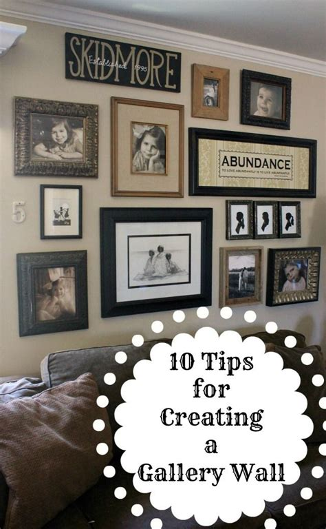 how to do a gallery wall 17 best images about photo wall gallery on pinterest