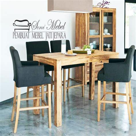 Meja Makan Plastik Minimalis meja makan minimalis bergaya bar seni mebel