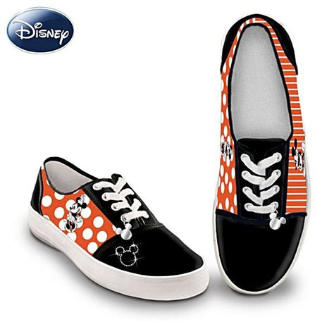 mickey sneakers quot retro mickey and minnie quot s canvas sneakers