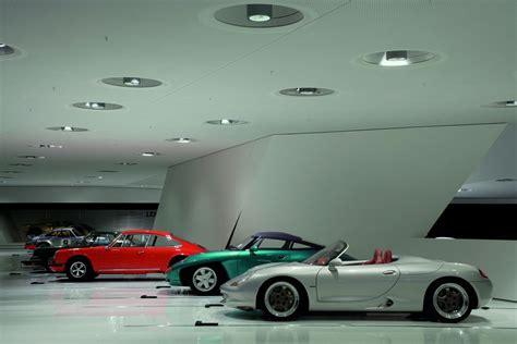 porsche garage porsche opens new museum today