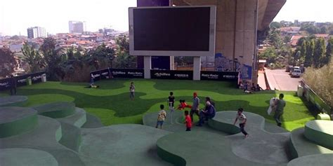 film ferdinand di bandung taman film bandung taman cantik terinspirasi bentuk sawah