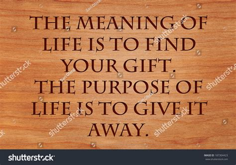biography author meaning the meaning of life is to find your gift the purpose of