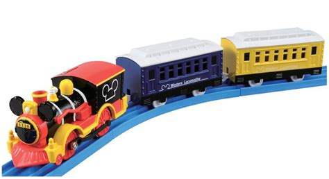 Tomica Mickey Mouse Western Locomotif Plarail Disney Railway Tomica Plarail Disney Railway Mickey Mouse Western